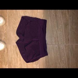 Lulu Lemon Speedy Shorts